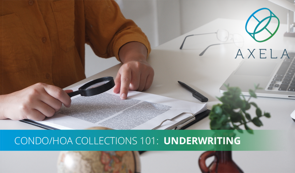 What You Need to Know About HOA Collection Underwriting