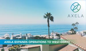 Axela Expands to west coast