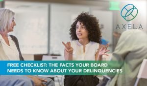 Just the facts on your delinquencies checklist