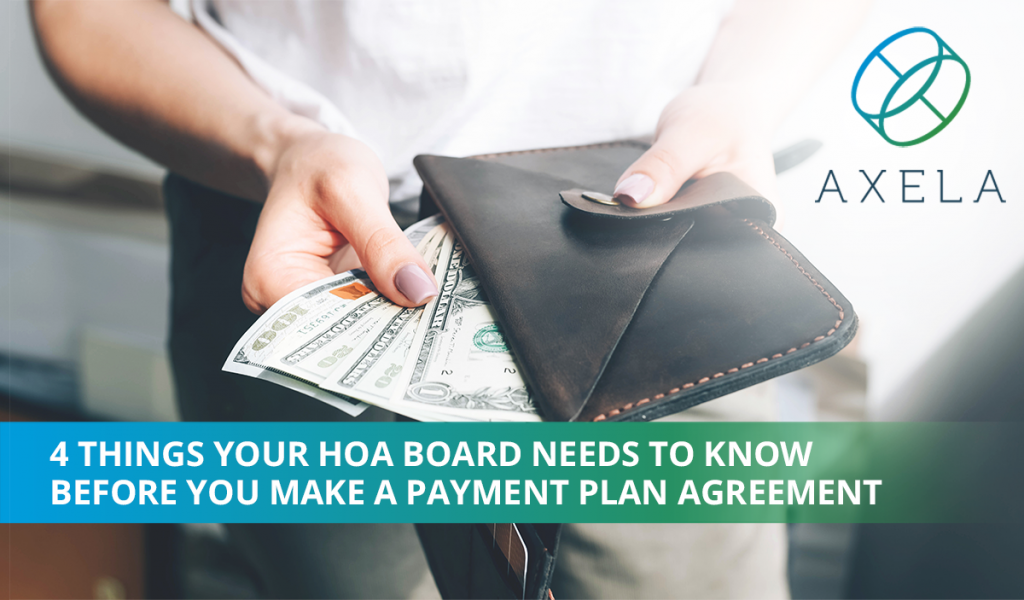 Payment Plans for HOA Collections