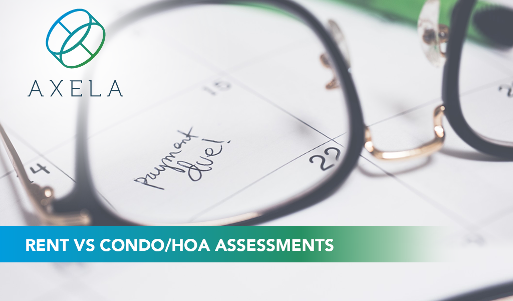 Rent vs. Condo / HOA Assessments