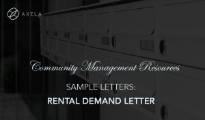 Rental Demand Letter
