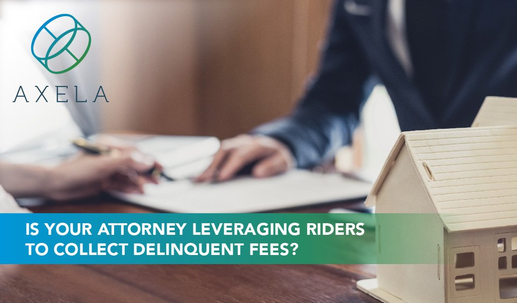 Use Riders to Collect from the Primary Mortgagor