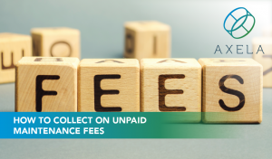 collect unpaid maintenance fees